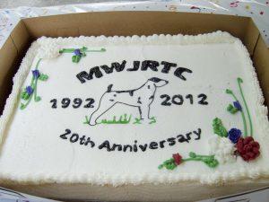 MWJRTC 20 Year Anniversary Cake 1992-2012