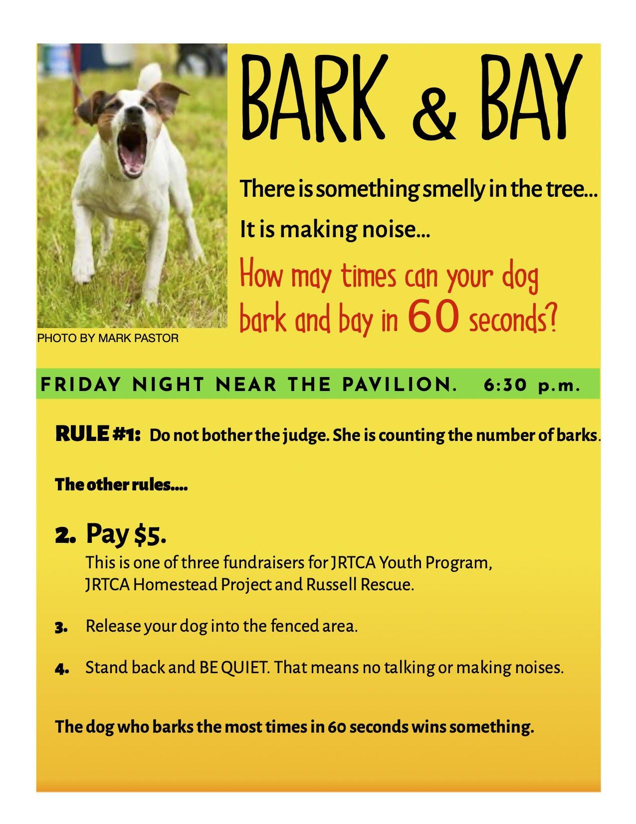 Bark and Bay 2021